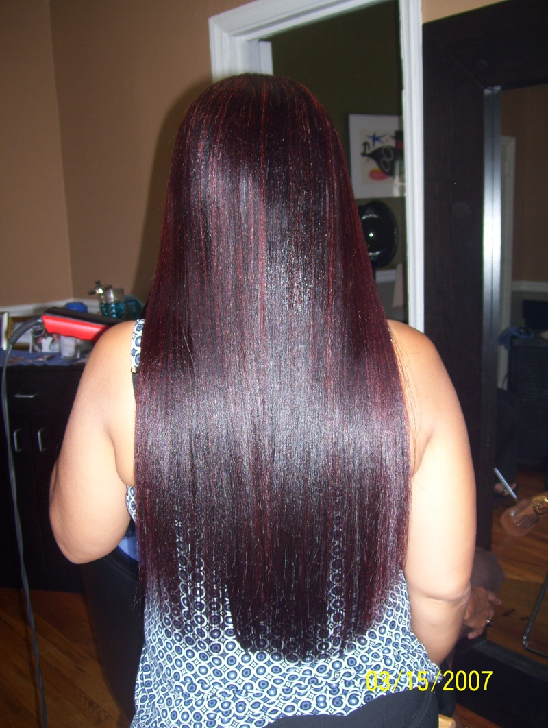 Long and Straight w/ Color